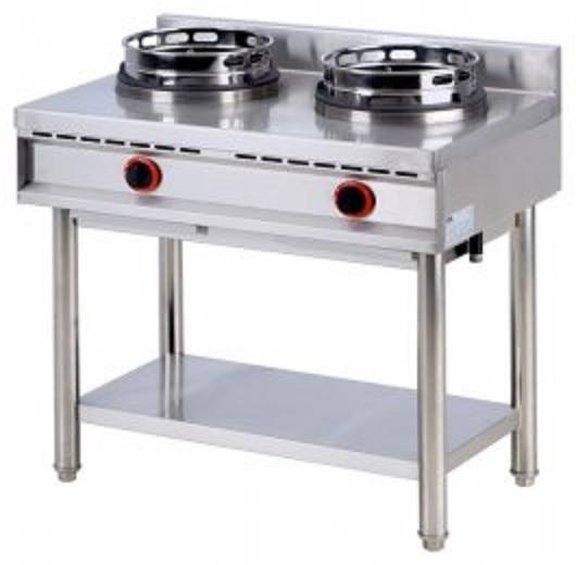 Gotowanie potraw w gastronomii kuchnie gazowe nad, stawne, wolno stojące -> Kuchnia Gazowa Wok
