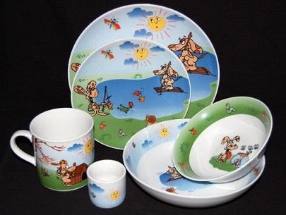 Porcelana Dziecięca Koplety Dekoracje Motywy Zestawy Dla Dzieci